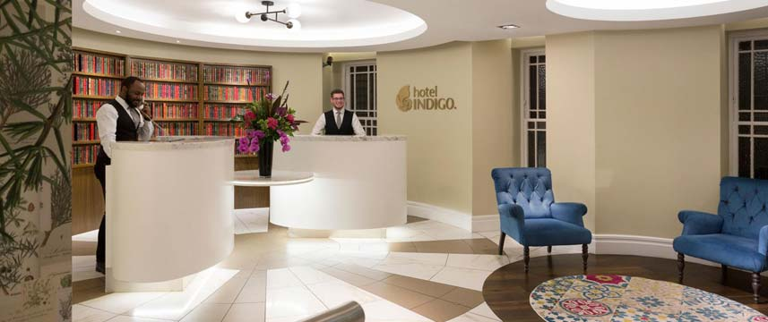 Hotel Indigo Edinburgh Princes Street Reception