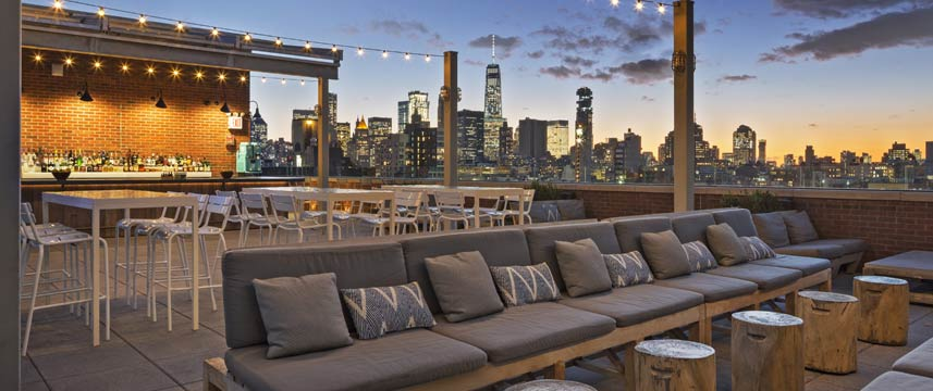 Hotel Indigo Lower East Side Rooftop Bar