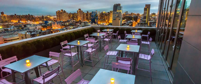 Hotel Indigo Lower East Side Rooftop View