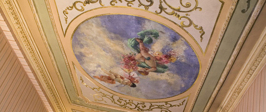 Hotel Internazionale - Decorative Ceiling