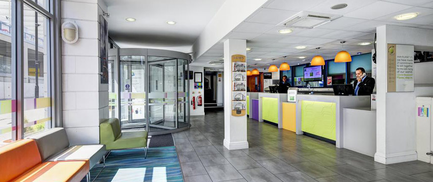 Ibis Styles London Excel - Reception