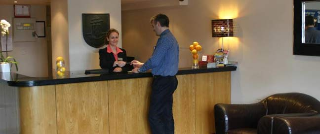 Imperial Hotel Galway Reception