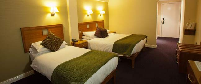 Imperial Hotel Galway Twin Bedroom