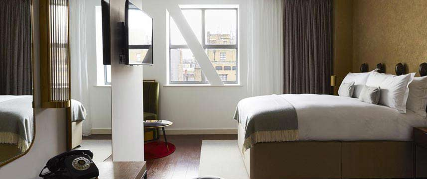 Indigo London 1 Leicester Square Superior Room Main