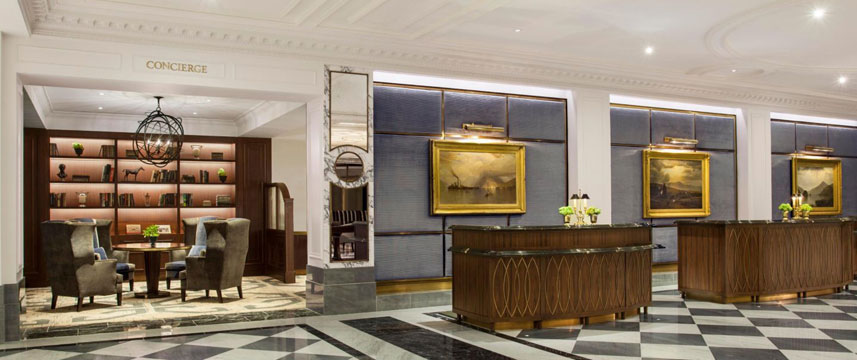 InterContinental New York Barclay - Front Desk