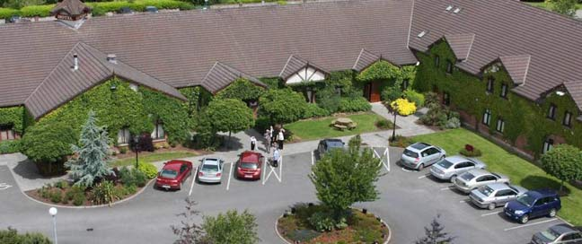 Kilmurry Lodge Hotel - Arial View
