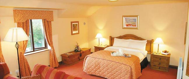 Kilmurry Lodge Hotel - Bedroom