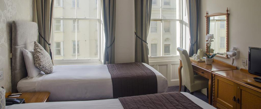Kings Hotel Brighton - Twin Room