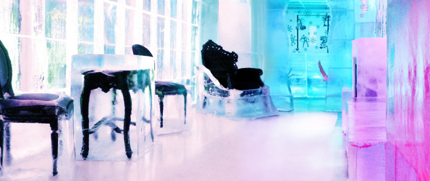 Kube Hotel - Ice Bar Seating