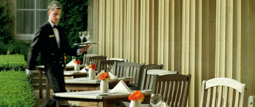 Macdonald Bath Spa Hotel - Terrace Seating
