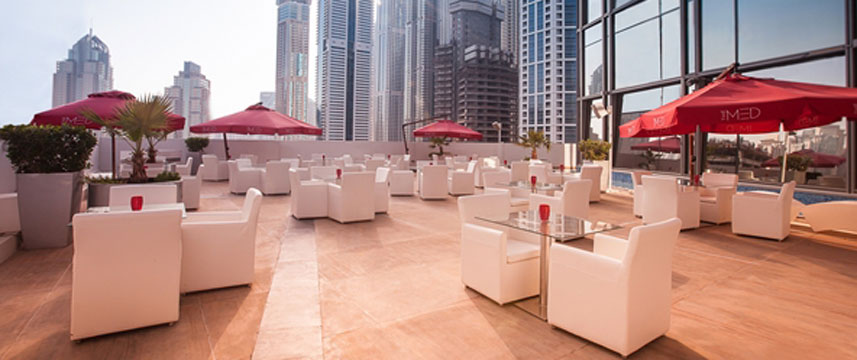Media One Hotel Dubai - Outside Dining