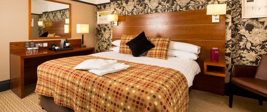 Mercure Manchester Picadilly Double Bedroom