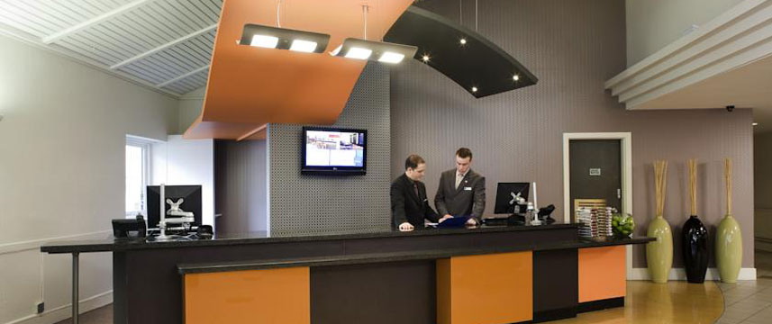 Novotel Manchester Reception Desk