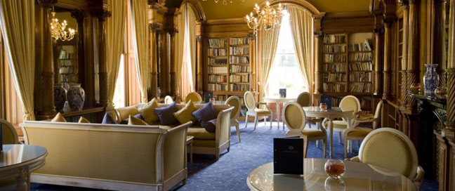 Oakley  Hall Hotel Library