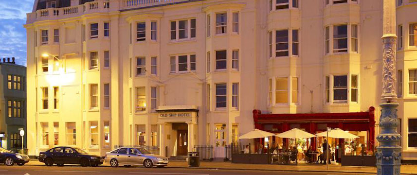 Old Ship Hotel - Brighton Exterior Evening