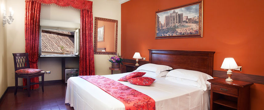 Pantheon Inn - Room Double Bed