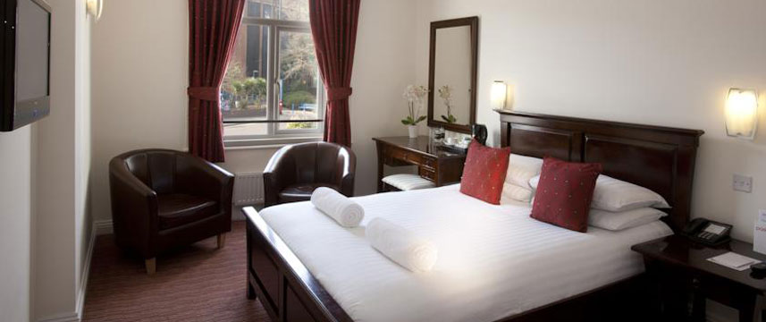 Park Central Hotel - Double Bedroom