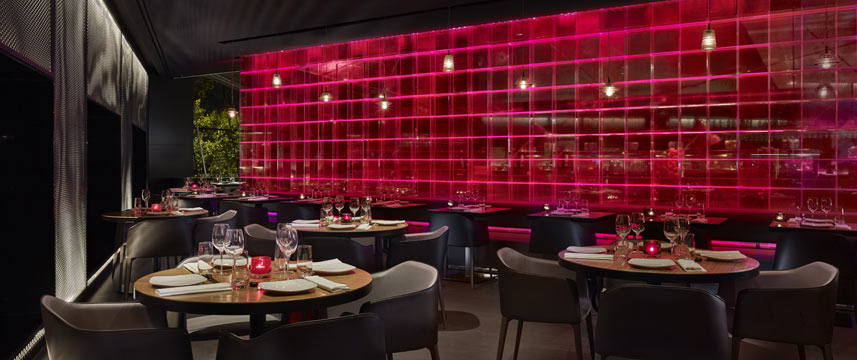 Park Plaza London Riverbank - Chino Latino Tables