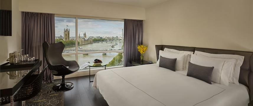 Plaza On The River - Deluxe Double Room