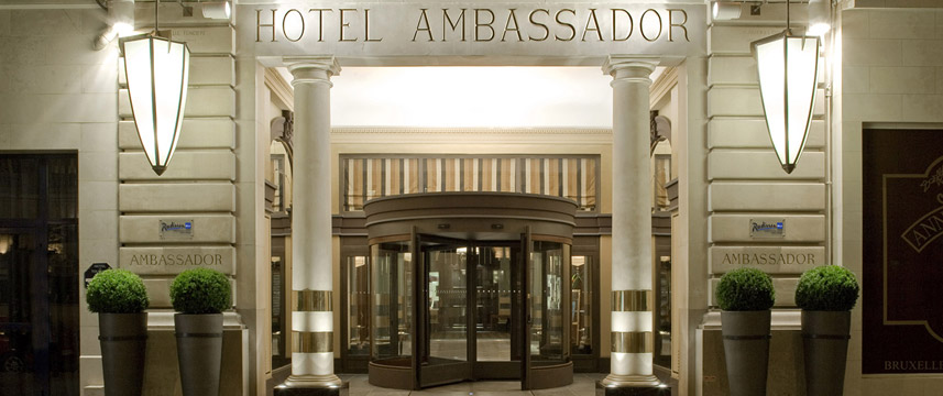 Radisson Ambassador Entrance