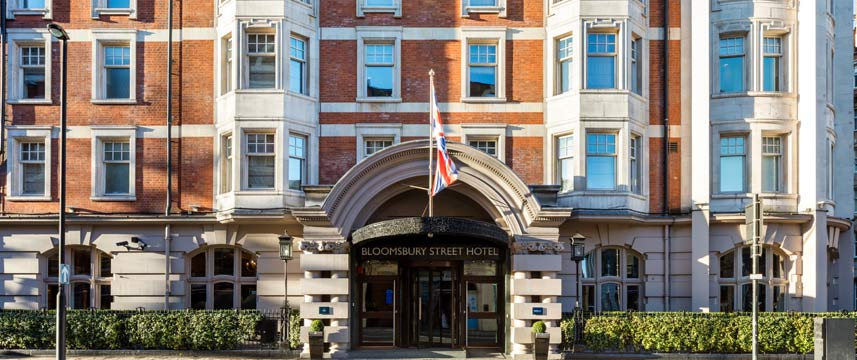Radisson Blu Edwardian Bloomsbury Street Entrance