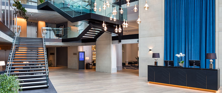 Radisson Blu Edwardian Manchester - Reception Desk