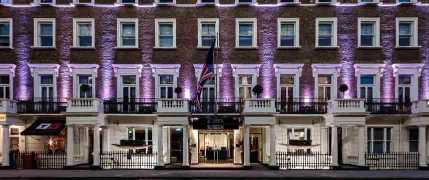Radisson Blu Edwardian Sussex - Exterior Night