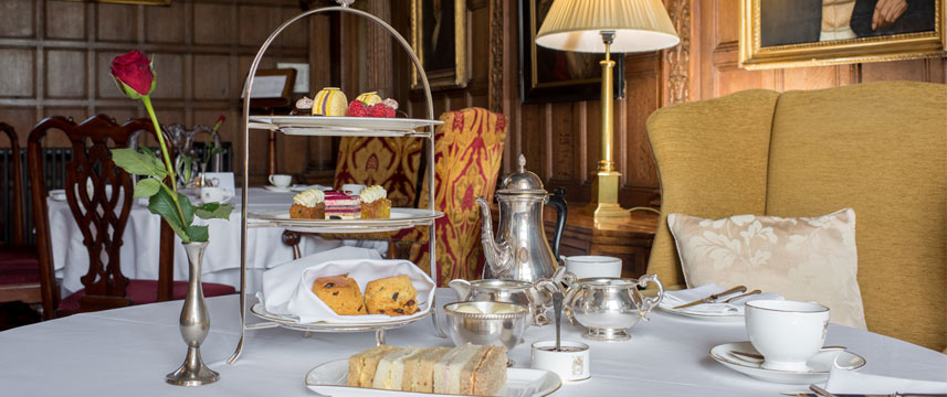 Rushton Hall Hotel and Spa - Afternoon Tea
