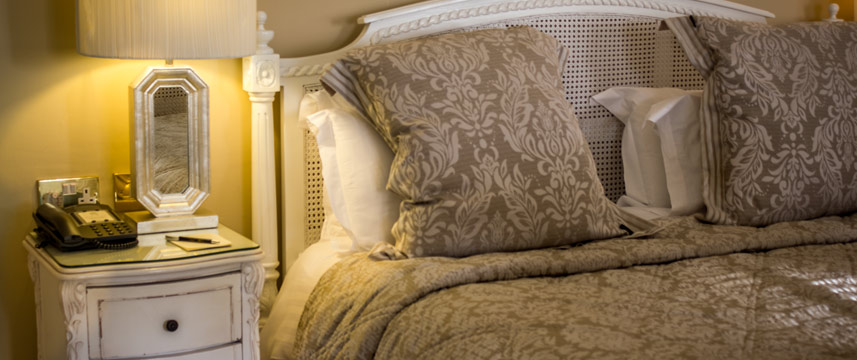 Rushton Hall Hotel and Spa - Bedside Detail