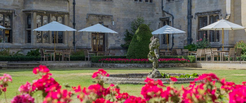 Rushton Hall Hotel and Spa - Courtyard