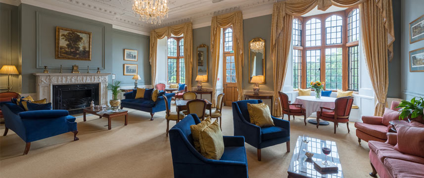 Rushton Hall Hotel and Spa - Drawing Room