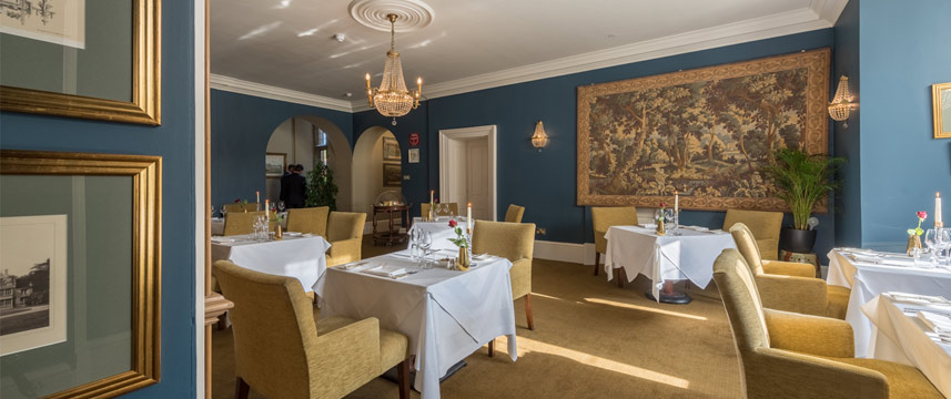 Rushton Hall Hotel and Spa - Tresham Restaurant