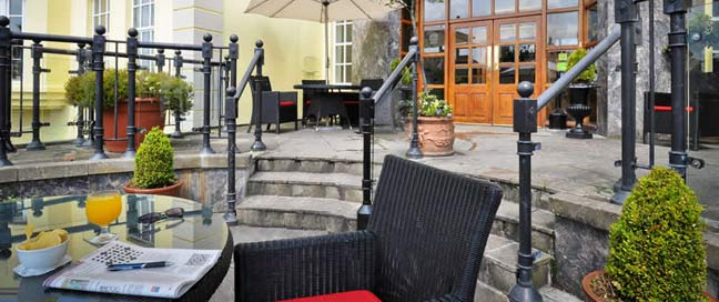 Sligo Southern Hotel Patio