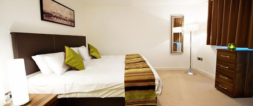 StayApartments Lever Court - Bedroom Double