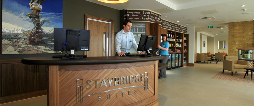 Staybridge Suites London Stratford - City Reception
