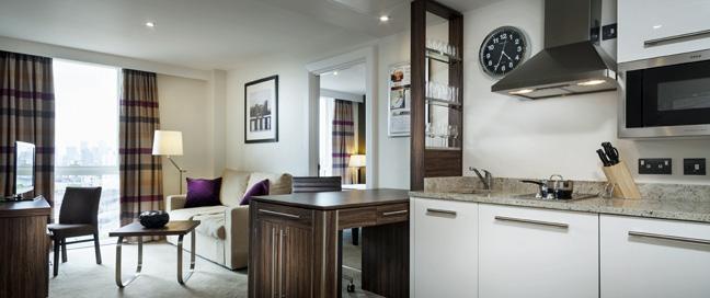 Staybridge Suites London Vauxhall - One Bedroom Apartment