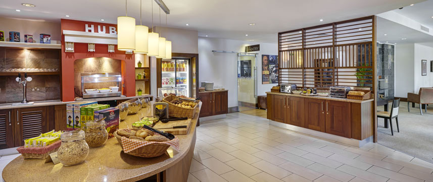 Staybridge Suites Newcastle - Breakfast Buffet