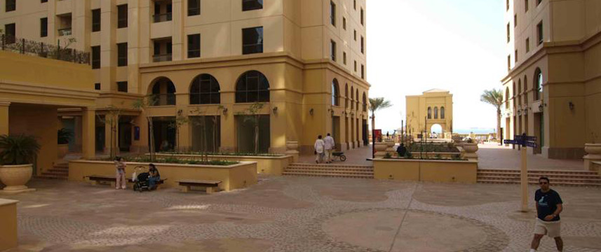 Suha Hotel Apartments - Courtyard