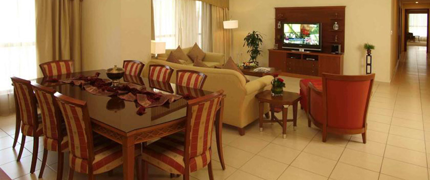 Suha Hotel Apartments - Dining Area