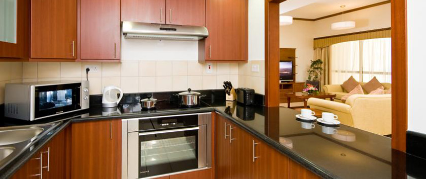 Suha Hotel Apartments - Kitchen