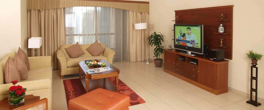 Suha Hotel Apartments - Living Area
