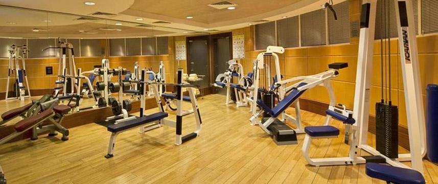 Taj Palace Hotel Gym Area