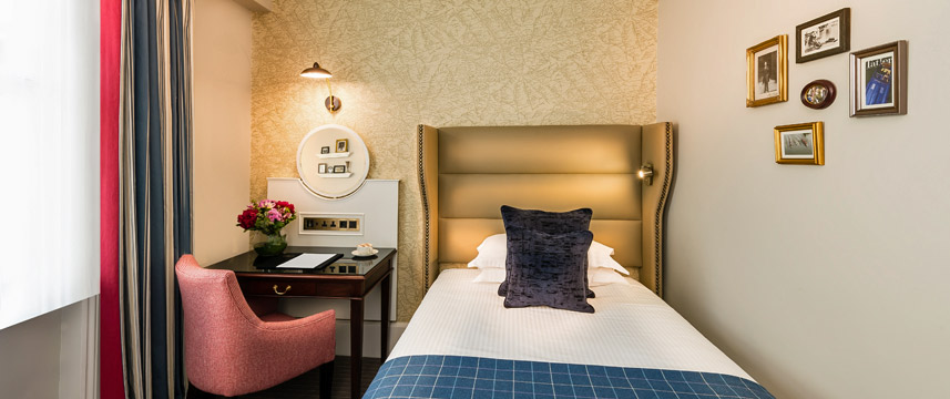 The Baileys Hotel London Classic Single Bed