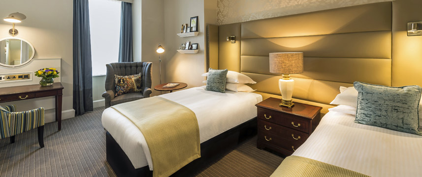 The Baileys Hotel London Deluxe Twin Room