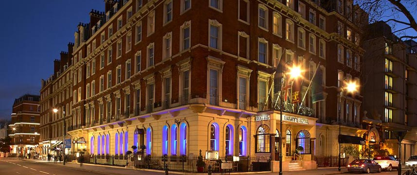 The Baileys Hotel London Exterior Night