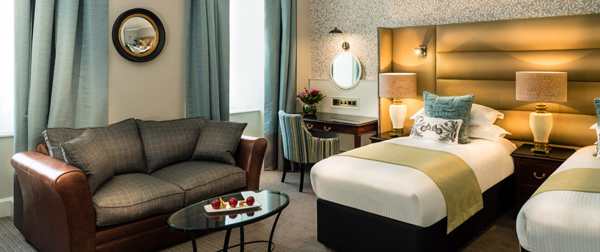 The Baileys Hotel London Luxury Twin Room