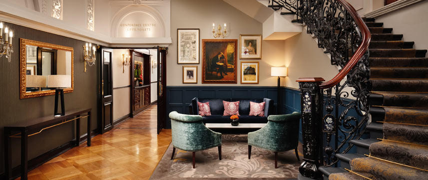 The Baileys Hotel London Staircase