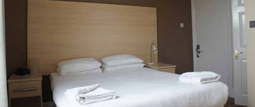 The Edgbaston Palace Hotel - Double Bedroom