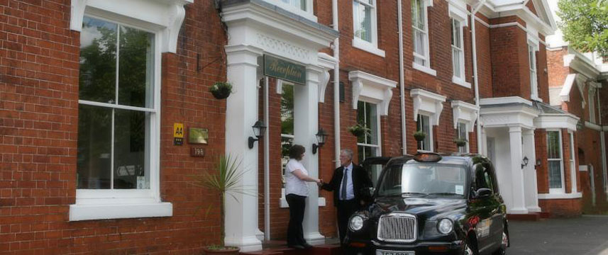 The Edgbaston Palace Hotel - Entrance