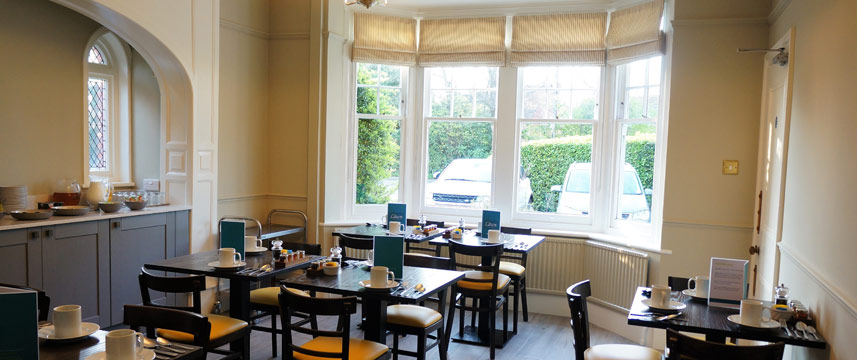 The Lawn Gatwick Guest House - Breakfast Room